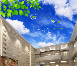 $enCountryForm.capitalKeyWord Canada - 3d wallpaper custom photo non-woven picture The sky clouds green 3d wall murals wallpaper landscape ceiling murals room decoration painting