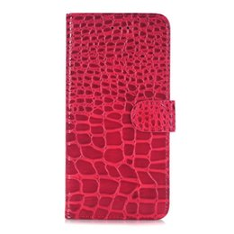 Luxury Credit Card Iphone Canada - Wallet Flip Leather Pouch Case For Iphone 8 7 Plus 7PLUS I7 Iphone8 Stand Crocodile Snake ID Credit Card Holder Money Bag Cover Skin Luxury