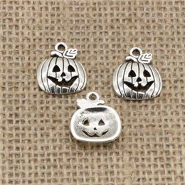 $enCountryForm.capitalKeyWord NZ - Wholesale 90pcs Charms Tibetan Silver Bronze Plated pumpkin jack 18*15mm Pendant for Jewelry DIY Hand Made Fitting