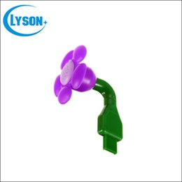 $enCountryForm.capitalKeyWord Canada - Mini Handheld Flower Shape Portable USB Daisy Fragrance Aroma Diffuser Car Scented Oil Air Freshener Essential Oil Diffuser Free Shipping