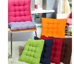 TIE ON FASHION CHUNKY SEAT PAD DINING ROOM GARDEN KITCHEN CHAIR CUSHION OUTDOOR