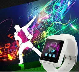 Cheapest phone Calls online shopping - 2015 New Bluetooth Smartwatches U8 Smart watch for IOS with bluetooth Wristwatch Cheapest android Smart Watch Phone bluetooth