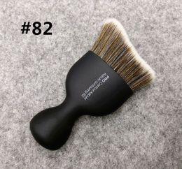Kabuki Black Makeup Brushes Canada - Brand SEP Makeup Brushes PRO Contour Kabuki contouring #82 powder blending foundation blush bronzer kabuki brush kit with cover.