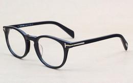 Clásico Retro Clear Lens Marcos Ópticos Gafas Diseñador de la marca Hombres Mujeres Anteojos 6123 Vintage Plank Espectáculo Miopía Gafas Marco