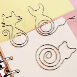 $enCountryForm.capitalKeyWord Canada - 20pcs lot Creative Cute Paper Clips Bookmark Memo Clip Book Holder Office School Supplies Free Shipping Papelaria