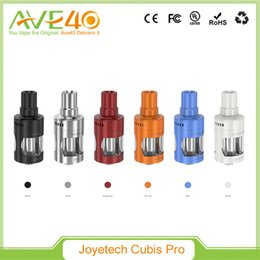 Atomizer for evic online shopping - Original Joyetech CUBIS Pro Atomizer Cubis Pro Tank ML with New QCS LVC Head Innovative Cup Design for eVic VTwo Mod Mini Mod