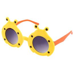 Hot Girls Sunglasses NZ - Fashion Cartoon character Animal Cute Glasses Girls Boys Kids Sunglasses Anti-UV Plastic Frame Hot!