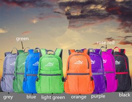 Folding Art Table Australia - Folding Backpack Boys & Girls' Casual Backpacks Travel Outdoor Sports Bags Teenager Students School Bag Multicolors Fast Shipping