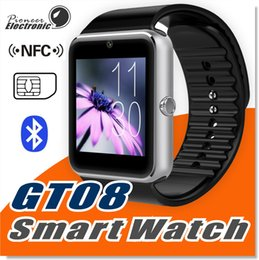 Smart watcheS dhl online shopping - GT08 Smart Watch Compatible Platform With Pedometer Camera Monitoring Sleep Sedentary Reminder For Android Samsung DHL OTH098