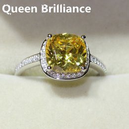 stamp pt950 cpp brand 3 carat best quality fancy nscd simulated yellow diamond ringengagement ringwedding ringproposal rings 17903 best wedding rings - Wedding Ring Brands