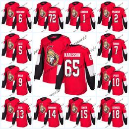 $enCountryForm.capitalKeyWord NZ - Ottawa Senators Jerseys 2017-2018 Season 65 Erik Karlsson 6 Chris Wideman 41 Craig Anderson 2 Dion Phaneuf Hockey Jerseys