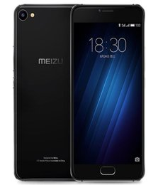 "meizu mp3 player black camera Australia - Meizu U20 Smartphone Mtk Helio P10 Core 5.5"" Fingerprint Dual Sim Original High Speed Flash Full Screen Joint Carrying Eight Core Processor"