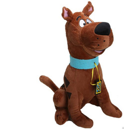 Discount scooby toy 13'' Soft Plush Cute Scooby Doo Dog Dolls Stuffed Toy New