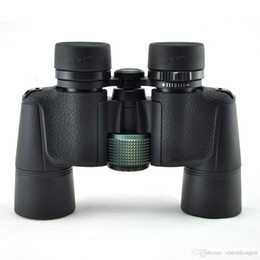 Hunt Camping Telescopes Canada - Visionking 8x40 Binoculars Telescope High Quality Big Eye Lens Bak4 Telescope Professional portable good quality binoculars for hunting camp