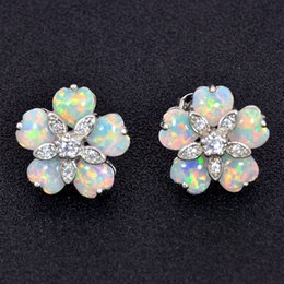 White Fire Opal Chandelier Earrings Online | White Fire Opal ...