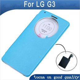 $enCountryForm.capitalKeyWord Canada - For LG G3 Chip Case Cover Luxury Quick Circle View Window Smart Case With QI Wireless Charging IC Chip