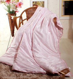 brand 100 mulberry silk comforter for winter summer king queen full twin size white red color quilt duvet blanket filler insert w26