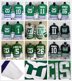 b693a1a7 Hartford Whalers #10 Ron Francis 5 Ulf Samuelsson 11 Kevin Dineen 26 Ray  Ferraro Patrick Verbeek CCM Throwback Stitched Ice Hockey Jerseys