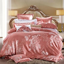 down comforter promotion timelimited king for queen full twin all 100 cotton floral print jacquard sateen 4 pieces duvet cover sets discount down