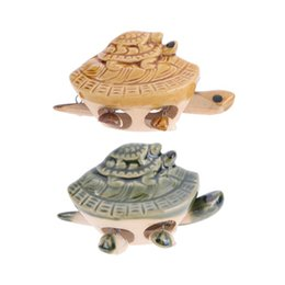 small turtle toys NZ - Recur Toys Ceramic Small Sea Turtle Tourism Crafts Kids Children Educational Toys Baby Boy Girl Christmas Gift