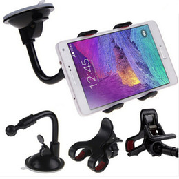 Wholesale universal smartphone windshield mount for sale - Group buy Flexible Long Arm Universal Car Windshield Suction Mount Phone Holder Bracket Stand for iphone for Samsung Smartphone Rotating