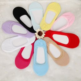 $enCountryForm.capitalKeyWord Canada - DHL FREE women invisible sock slippers non-slip socks candy-colored ultrathin sock wholesale