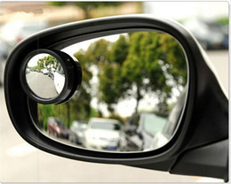 Blind View Canada - (30 pieces lot ) Wholesale Car Mirror Side View Blind Spot Mirror Auxiliary Rear View Mirror