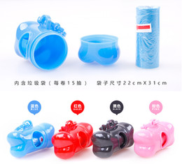 2 PcesFreeshipping New Arrival Stylish Design Home Pet Dog Mini Travel Garbage Container Puppy Dog Excrement Bag Pet Refuse Box Random Color  sc 1 st  DHgate.com & Dog Box Designs Online | Dog Box Designs for Sale Aboutintivar.Com