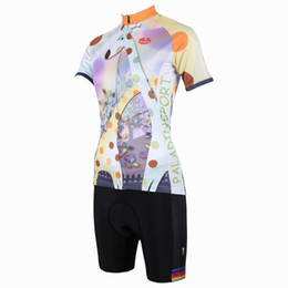 China Top Quality 2016 PALADIN Colorful Animals Cycling Jersey Sets Breathable & Quick Dry Ladies Short Sleeve Cycle Tops+Pads For Women supplier jerseys for ladies suppliers