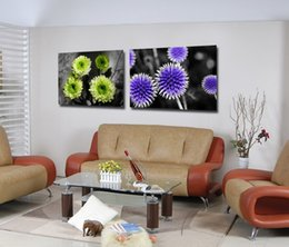 Contemporary Canvas art floral online shopping - Giclee Print Canvas Wall Art Flowers Contemporary Floral Painting Home Decor Set20181