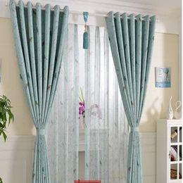 curtains short windows custom doublesided printing field wave short window curtain bedroom custom