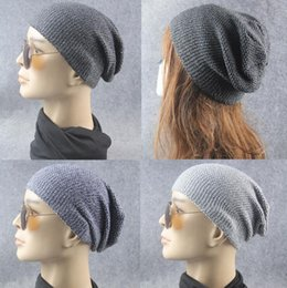 $enCountryForm.capitalKeyWord Australia - Wholesale - Fashion Beanie Skull Caps Mens Womens Spring & Fall Winter Wool 3Colors Knitted Ruffle Layers Plain Hats Caps
