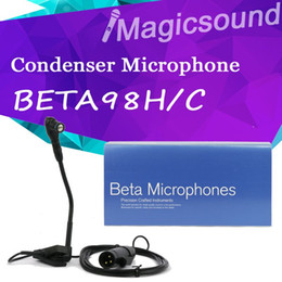 China Top Quality!! Professional BETA98H C Guitar Instrument Microphone system Use For Guitar BETA microphone 98H C Brand New suppliers