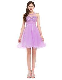 $enCountryForm.capitalKeyWord Australia - short blue prom dresses 2019 green rhinestone Dresses beading sexy lace vestido de festa curto Sweetheart sleeveless short prom dress Cheap