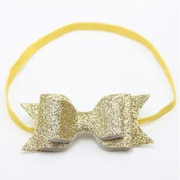 Sequin Headbands For Babies NZ - infant headbands bows,shiny bow baby headband ,sequins birthday photo prop ,Newborn Hair accessory,headband for kids