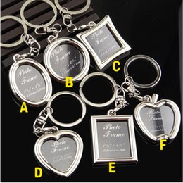 $enCountryForm.capitalKeyWord Canada - Photo Frame Lovers Creative Personalized Keychain Alloy Key Ring Valentine Gift Wedding Favor Novelty gift Free Shipping