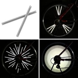 $enCountryForm.capitalKeyWord NZ - 12pcs Reflective Mount Clip Tube Warning Strip Bicycle bike Wheel Spoke Reflector mountain rear bike reflector light New Arrival