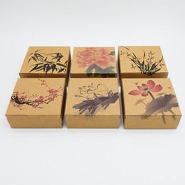 $enCountryForm.capitalKeyWord UK - flower MooncakeKraft Paper Cake Box Muffin Cookies Box pastry moon cake box wholesale ,cookies packaging 3 sizes 10pcs lot free shipping
