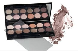 nude brand eyeshadow Canada - 2016 New 180pcs Qibest 12 Color Charm Eye Shadow set The Earth Color Nude Makeup shimmer brand eyeshadow Palette Cosmetics