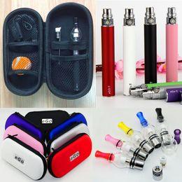 $enCountryForm.capitalKeyWord Canada - Factory wholesale Wax Pen eCig Single Zipper Case Dab Gobe Pens eGo Wax Dry Herb vape Vaporizer with 650 900 1100mAh 510 battery