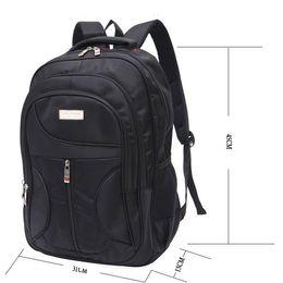 China Stylish Men Waterproof Large Capacity Bag Travel Laptop Backpack Nylon College Tide Casual Men's Backpacks School Bag suppliers