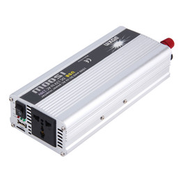 Dc power supply inverter online shopping - Car Charger W WATT DC V to AC v Car Power Inverter Converter Transformer Power Supply hot selling