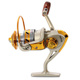2016 Vente chaude Articles de pêche EF1000 - Série 7000 Aluminium Spool Superior Ratio 5.5: 1 Bobine de Spinning Spinning Reel en Solde