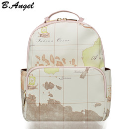 Hc bags dhgate uk high quality white world map backpack women backpack leather backpack printing backpack travel bag hc w 6705 gumiabroncs Image collections