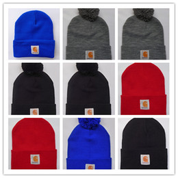New hip hop hats online shopping - New Unisex Spring winter men fashion brand car Hart Women fashion knitted hat casual Hip Hop outdoor warm skull caps female gorros Beanies