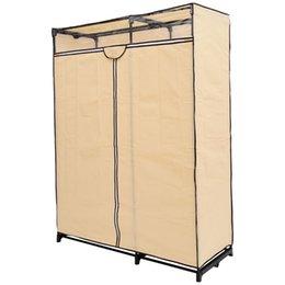 portable storage wardrobe clothes rack portable clothes closet wardrobe garment organizer coat