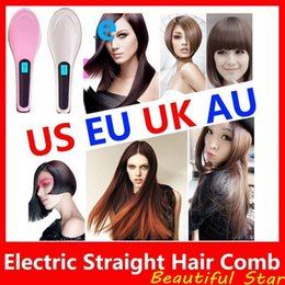 $enCountryForm.capitalKeyWord NZ - Beautiful Star NASV FAST Hair Straightener brush Straight Styling Tool Flat Iron Electronic Temperature Control US AU EU UK Plug DHL free