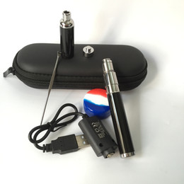 new mini evolve plus portable upgraded 510 quartz coil wax vape pen smoking vape pen skillet v2 top selling wax cloud vapor