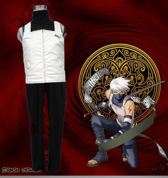 Wholesale naruto hatake cosplay for sale - Group buy Hot Anime Costume Naruto Hatake Kakashi Anbu Cosplay Costume Second Generation