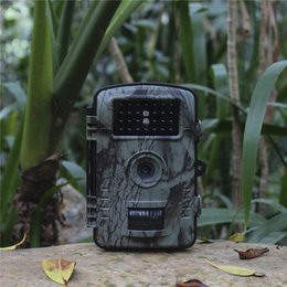 Mini caMera surveillance online shopping - 10pcs RD1003 Camouflage outdoor hunting camera HD infrared night vision waterproof hunting surveillance camera hunting machine